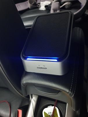 에어테라피 스마트액션 차량용 공기청정기(H13급 필터 1+1)