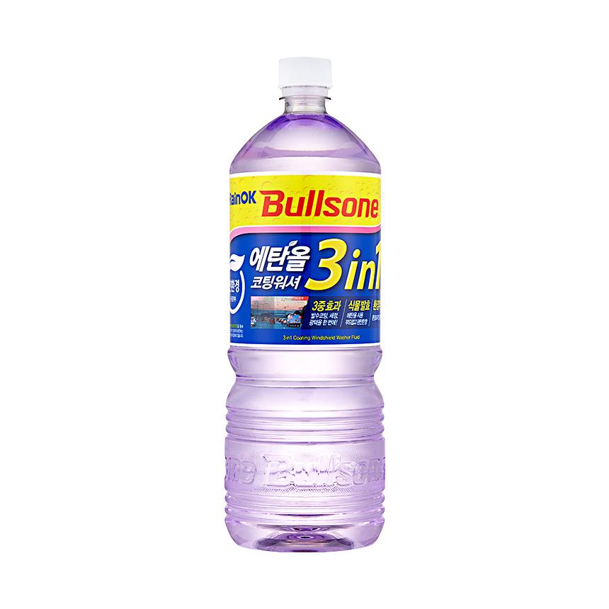 [불스원] 레인OK 에탄올 3in1 코팅워셔액 1800ml