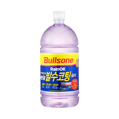 [불스원 베스트] 레인OK 프리미엄 발수코팅 에탄올워셔 1800ml