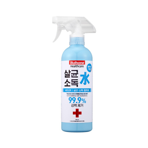 [불스원] 살균 소독 탈취제 살균소독수 호클러 500ml