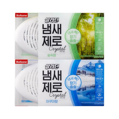 [불스원] 살라딘 냄새제로 삼중탈취 2종 택1