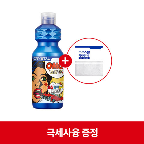 [불스원] 크리스탈 OMG 쇼킹젤 300ml