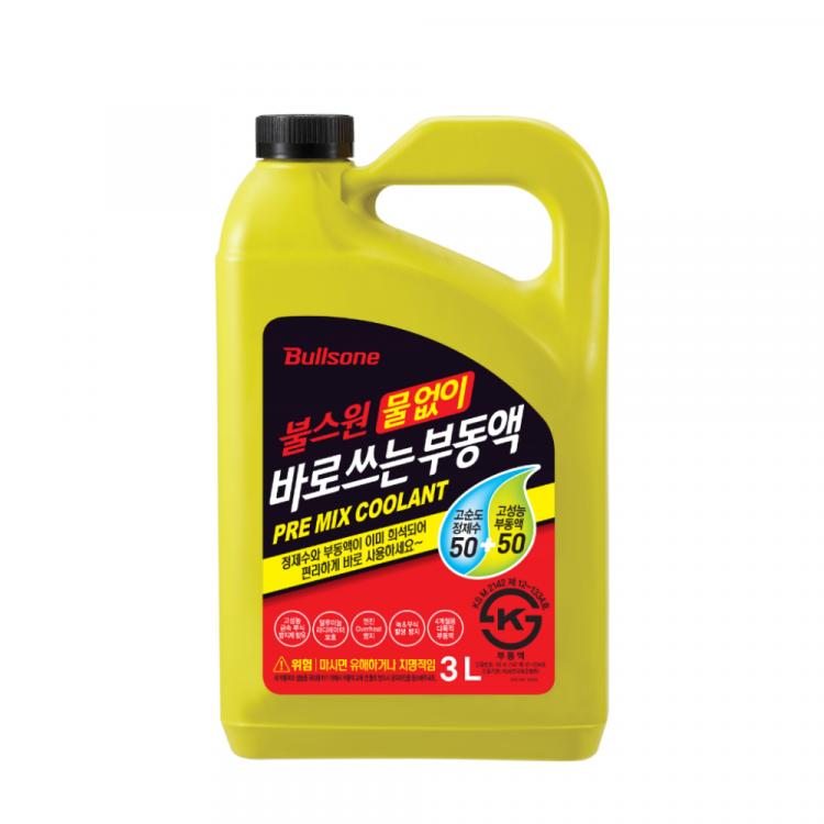 [불스원] 물없이 바로 쓰는 프리믹스 부동액 3L