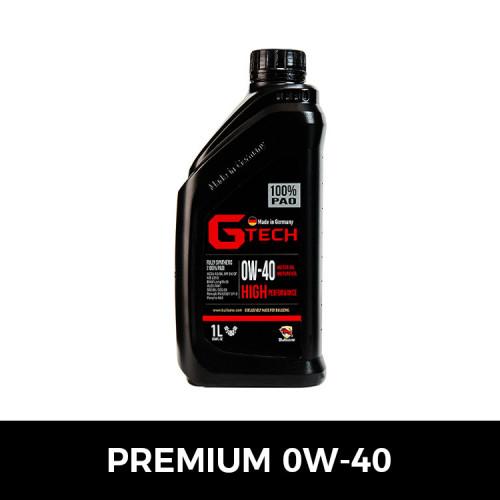 [불스원][G-Tech] 지테크 프리미엄 엔진오일(0W40-1L)