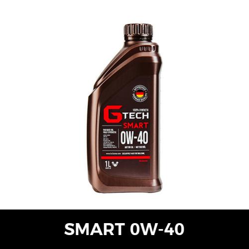 [불스원][G-Tech] 지테크 SMART 엔진오일(0W40-1L)