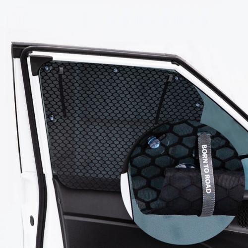 [본투로드] 큐브 메쉬 윈도우 썬블럭 햇빛가리개