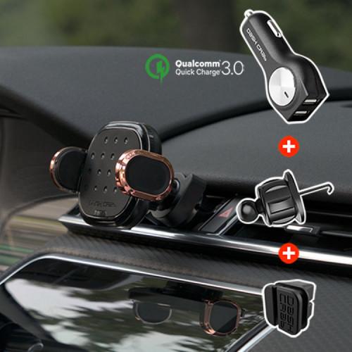 대쉬크랩 핏2세대 차량용 무선충전 거치대
