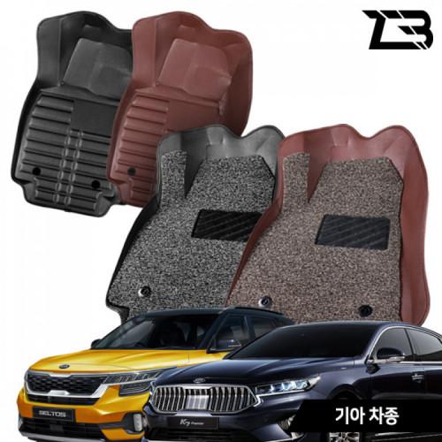 제트비 기아자동차 카매트 5D 6D 가죽 코일매트