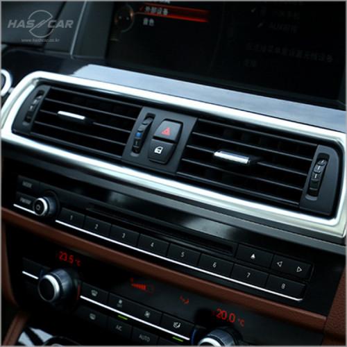 BMW 5시리즈 F10전용 센터송풍구 크롬몰딩
