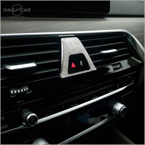 BMW 신형 비상등 큐빅몰딩