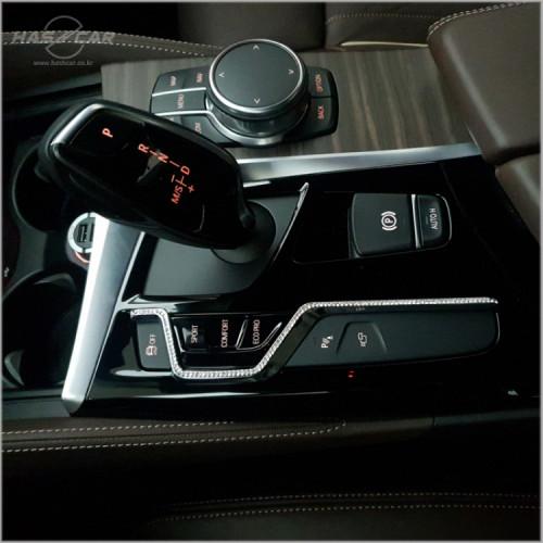 BMW 신형 기어패널 큐빅몰딩