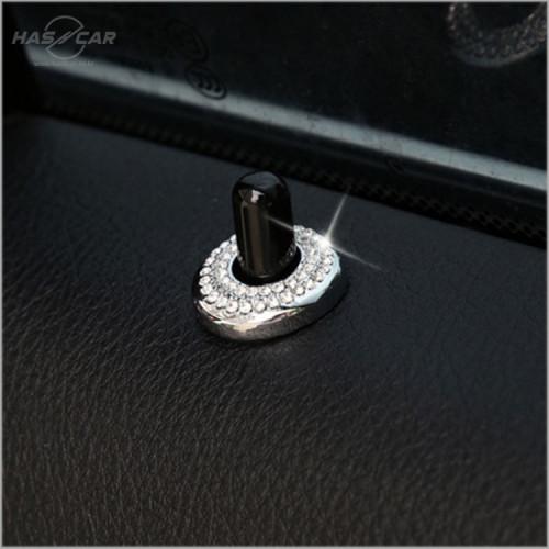 BMW 도어핀 큐빅 몰딩 악세사리(4p) 신형 5시리즈/X3/6GT