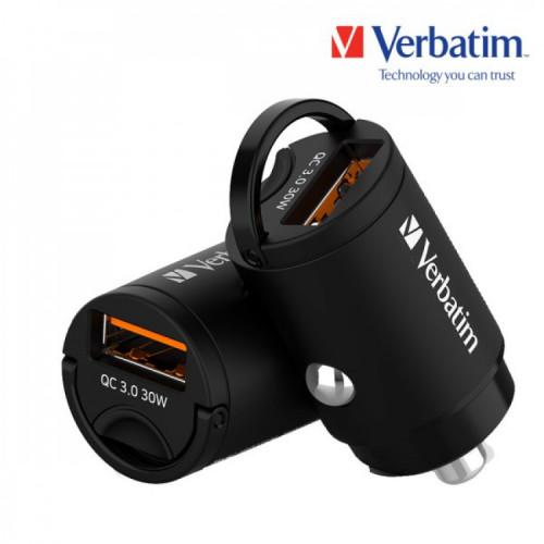 버바팀 퀄컴 3.0 30W 초미니 차량용 충전기