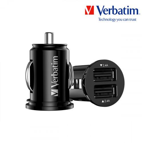 버바팀 차량용 고속 충전기 4.8A 듀얼 블랙
