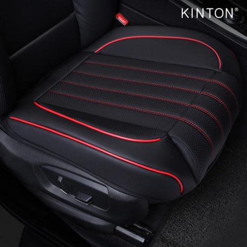 킨톤 차량용 5D타공 풀커버 가죽 쿠션 방석 앞좌석 1P