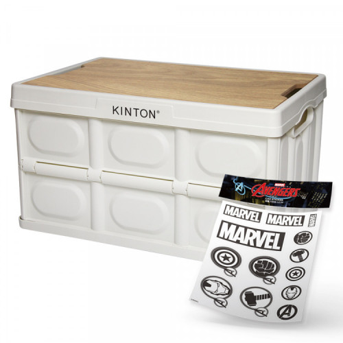 킨톤 트렁크정리함 캠핑 테이블 상판 포함 대형 57L  MOI9 + 마블스티커