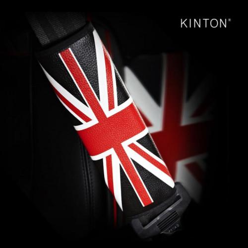 킨톤 안전벨트 커버 차량용 유니언잭 2P