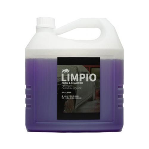 림피오 폼앤샴푸 퍼플 4L (향긋한 꽃향)