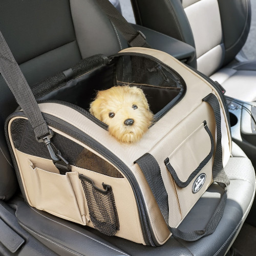 멍뭉스 가방형 강아지 카시트 겸 이동장 기내가방