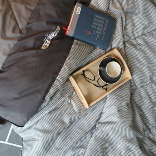 빈슨메시프 스트라이프 침낭 사계절 가정용 디자인 침낭